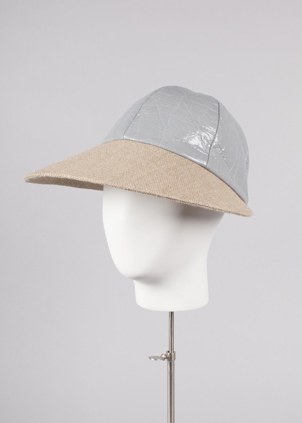 Grey Visor Cap