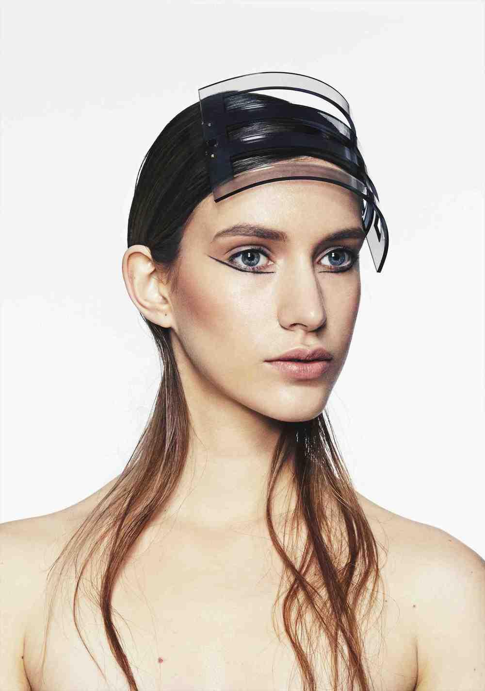 Perspex Slotted Headband