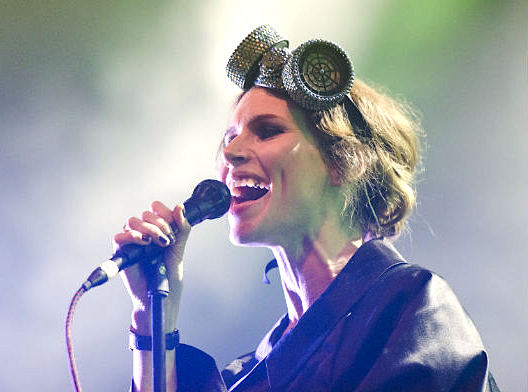 Custom Headpiece - Nina Persson - The Cardigans Summer Tour
