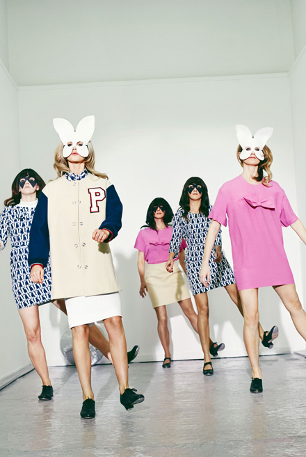 Custom Bunny Mask - Peter Jensen - Collection Presentation