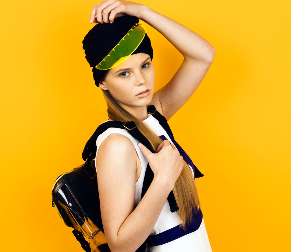 Turban Visor - L 2 MAE Lookbook (Styled by Rachel Holland)