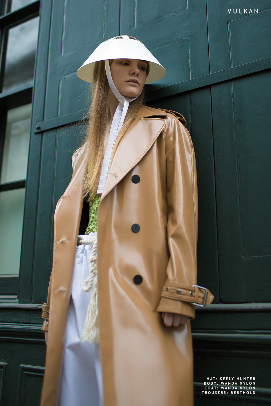 Tie Sun Hat - Vulcan Magazine (Styled by Arianna Cavallo)
