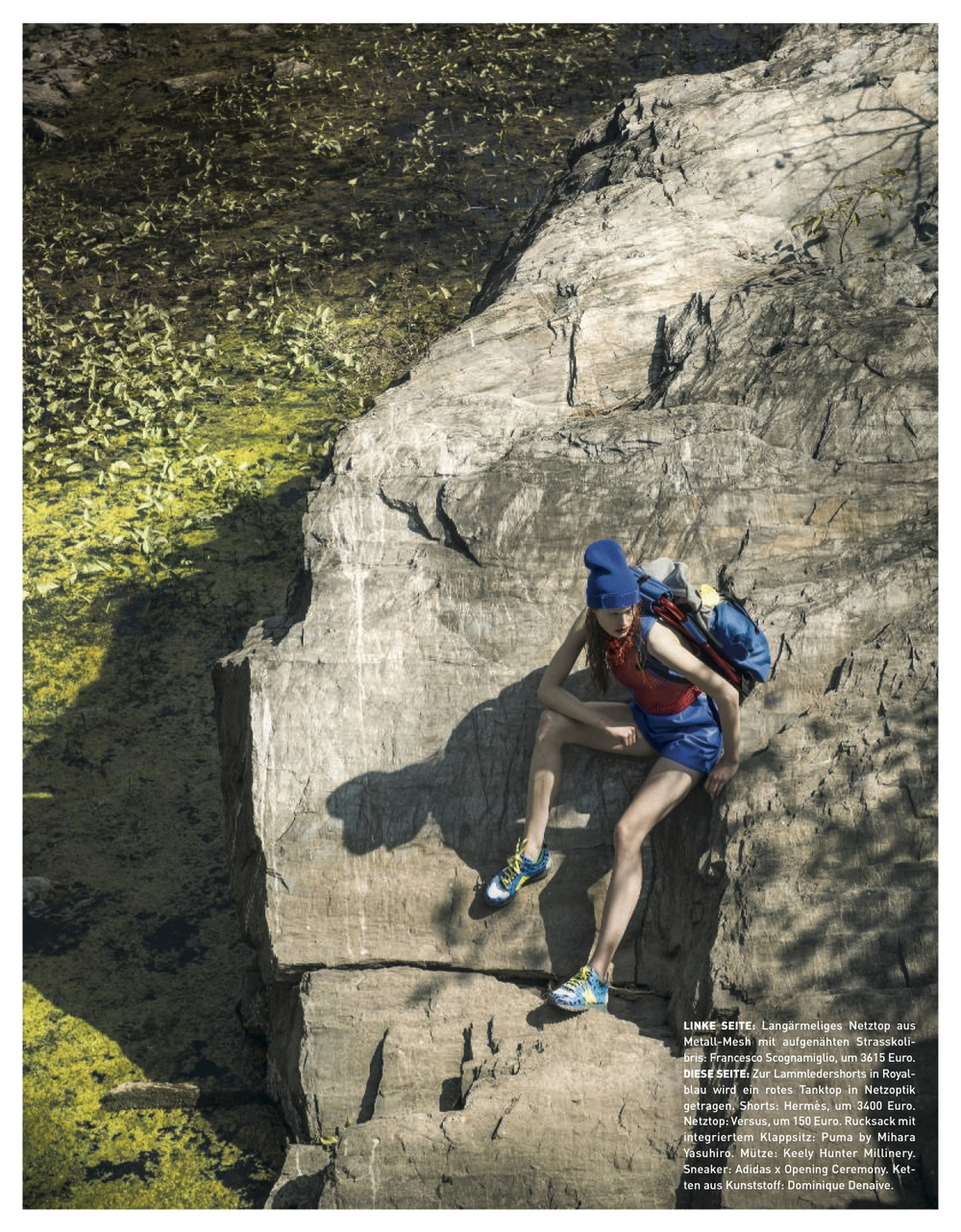 Perspex Beanie - Madame Magazine