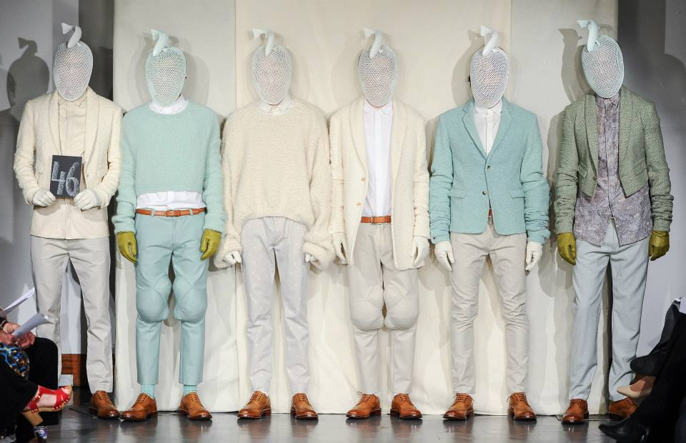 Custom Fish Masks - Laura Teasdale Collection Presentation - Graduate Fashion Week