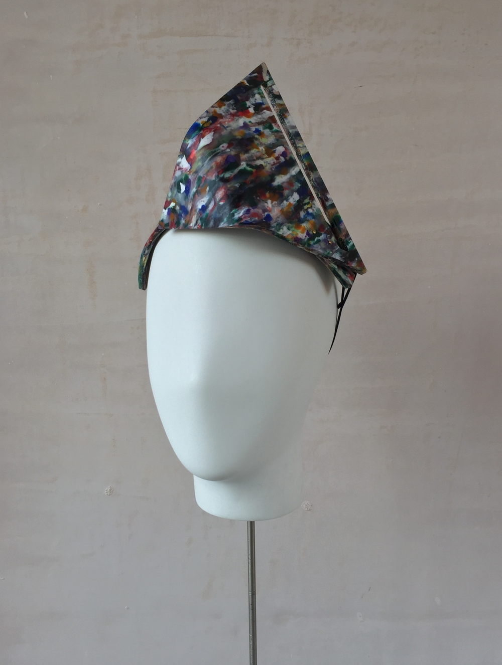 Recycled Plastic Slotted Triangle Headband