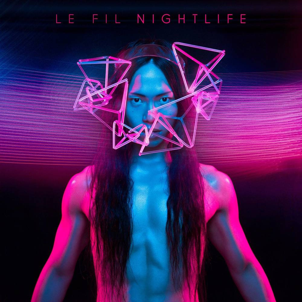 Wave Headpiece - Le Fil - Nightlife EP - Album Artwork Cover