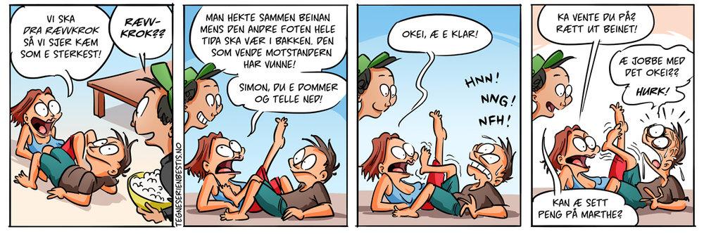 Bästis på norska, närmare bestemt trønderdialekt! Svår att förstå?