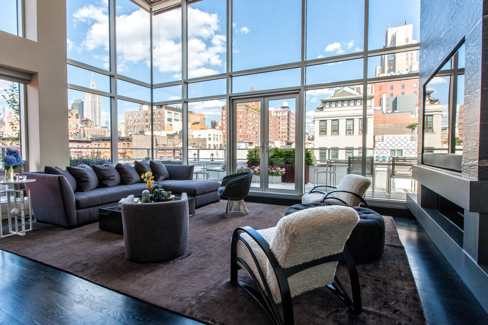 Chelsea Penthouse, New York NY