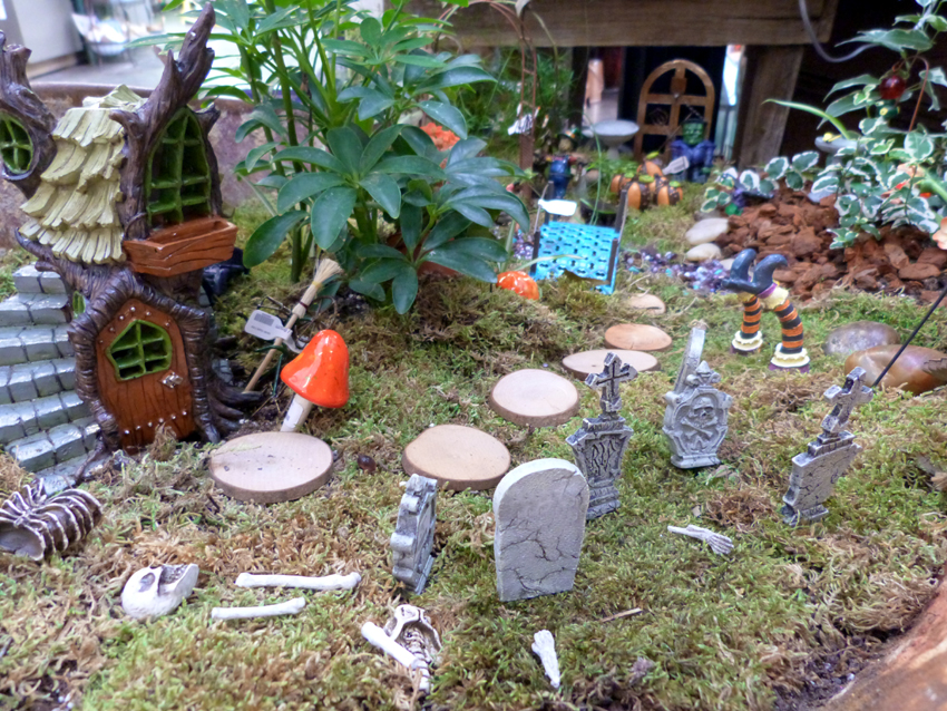 Charming Gardening In Miniature Halloween  Garden Supply Co.