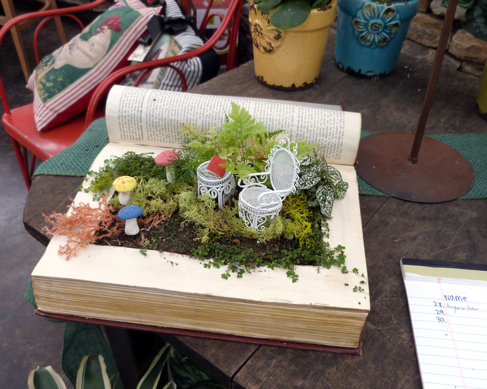 Pinterest Party Fairy Garden Book