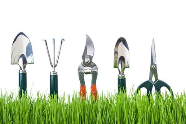 List Garden Tools
