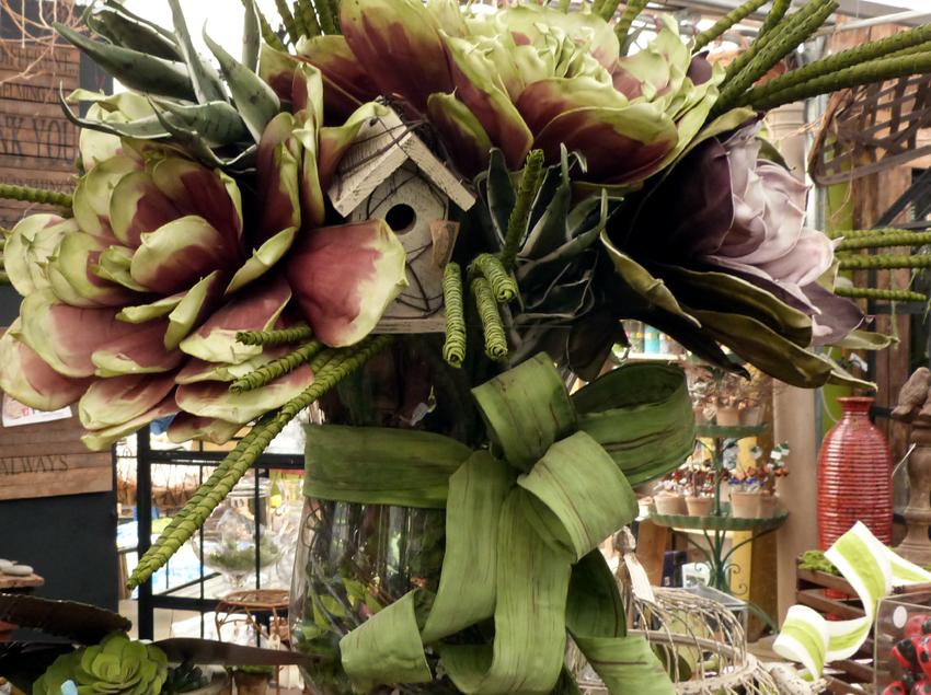 Oversized Floral Arrangement4- Garden Supply Co
