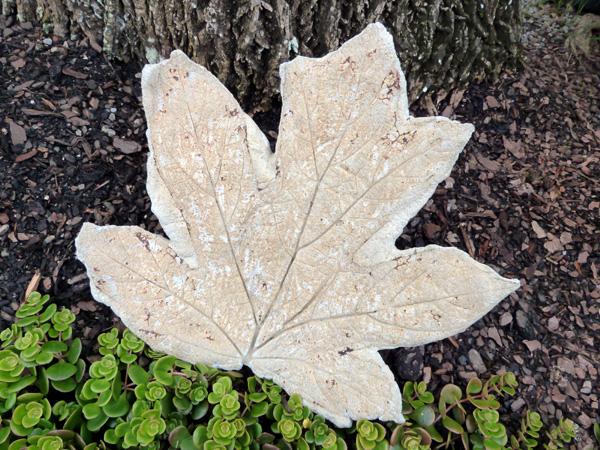 Hypertufa- Leaf2