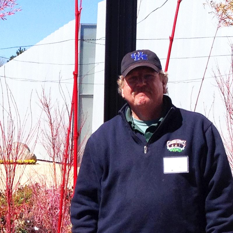Jay Stolz, Gardener, Florist, Container Designer