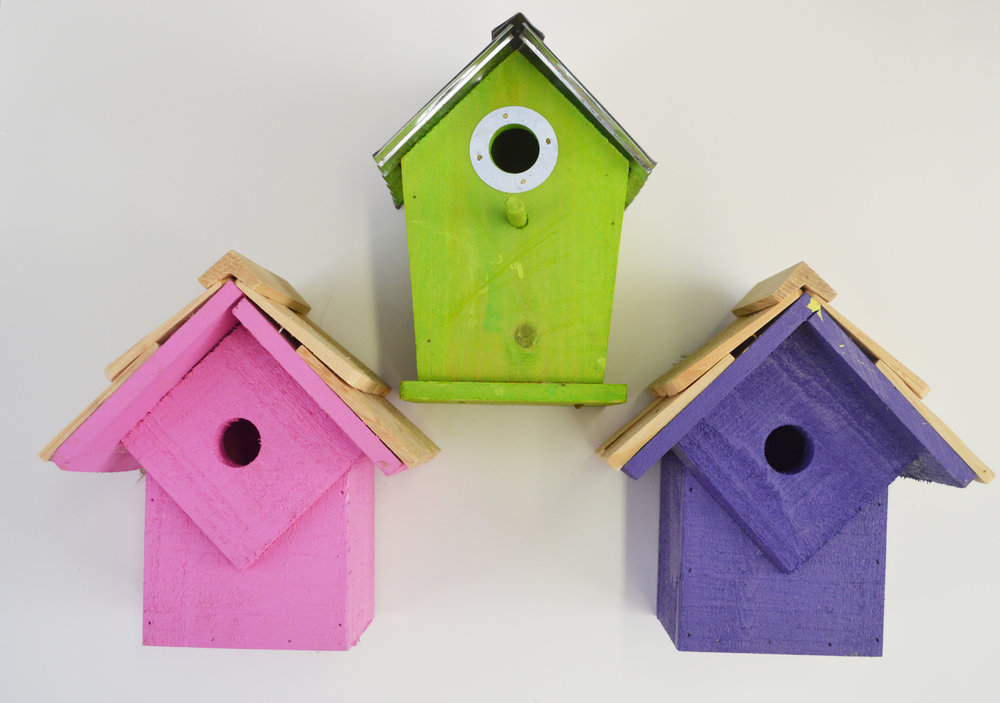 Bird Houses, baths & Seed