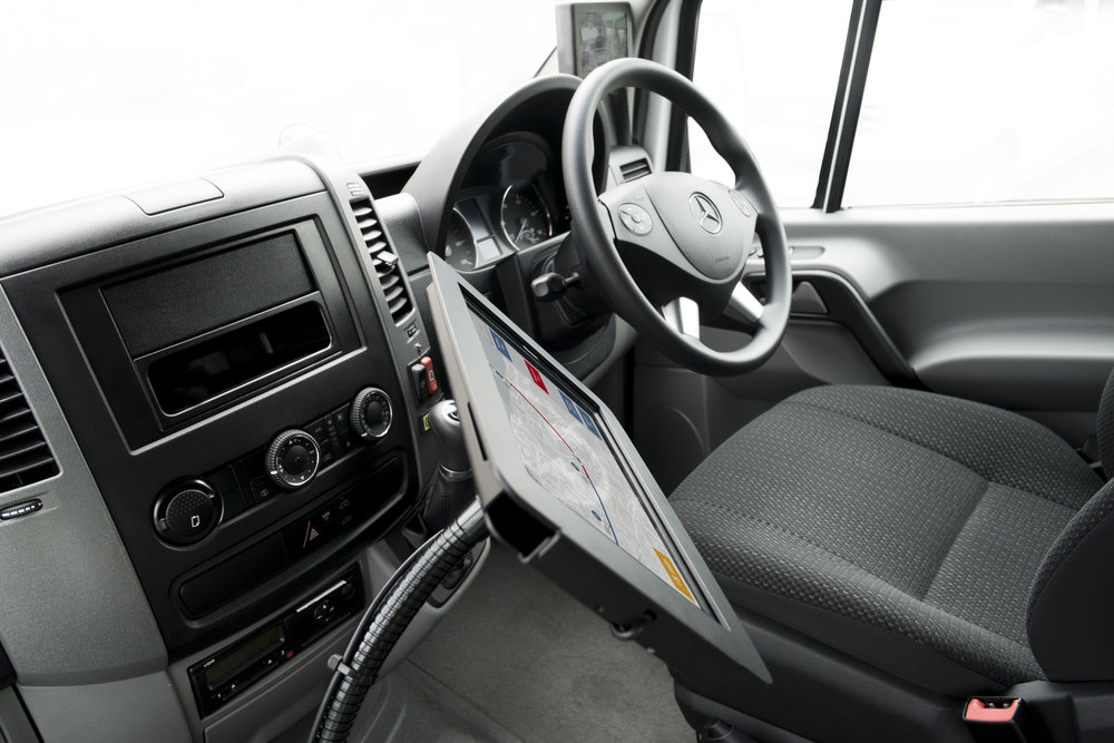 Smartbus driver control systems delivered via Android tablet