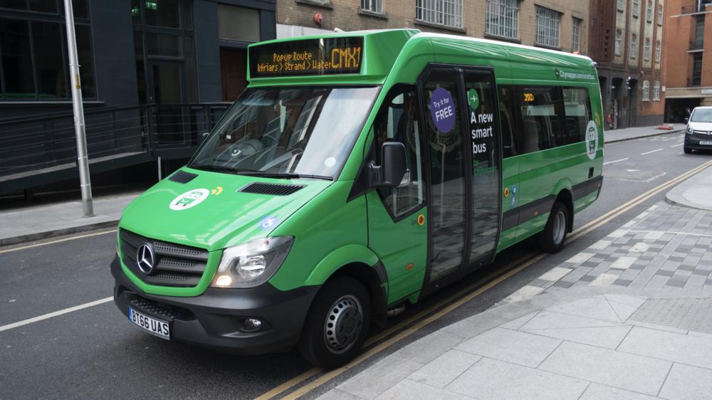 Smartbus rolls out through Southwark, London
