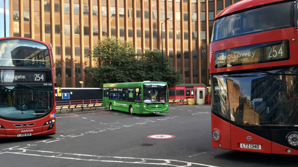 Smartbus rolls out on it's new routes in East London