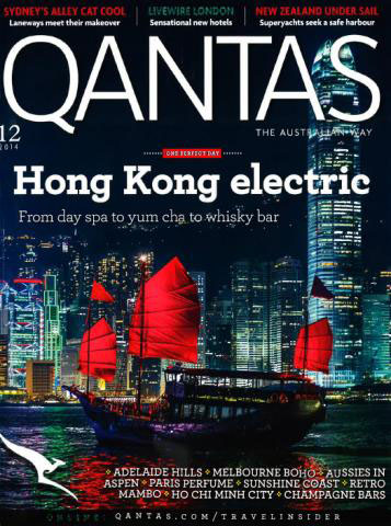 Copy of QANTAS MAGAZINE, Australia