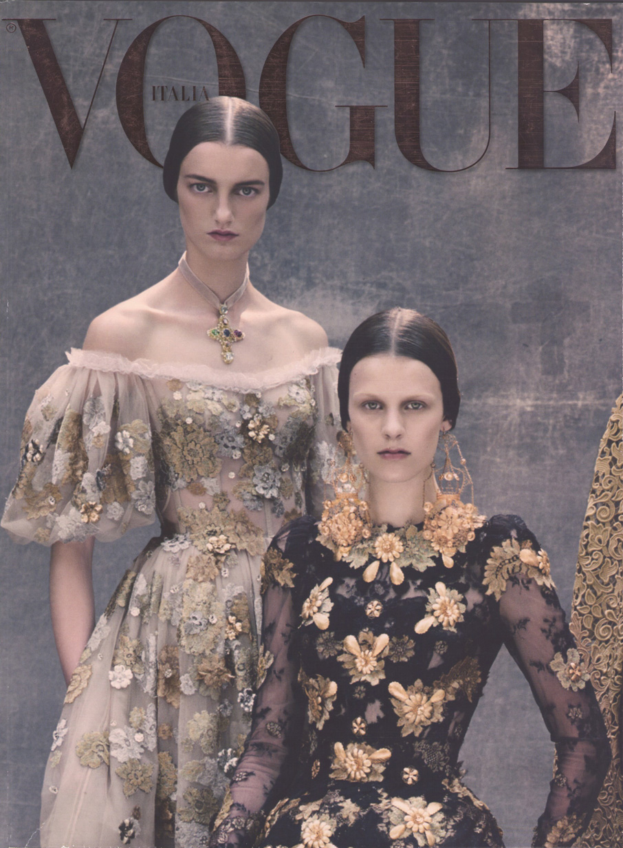 VOGUE September Issue, Italy