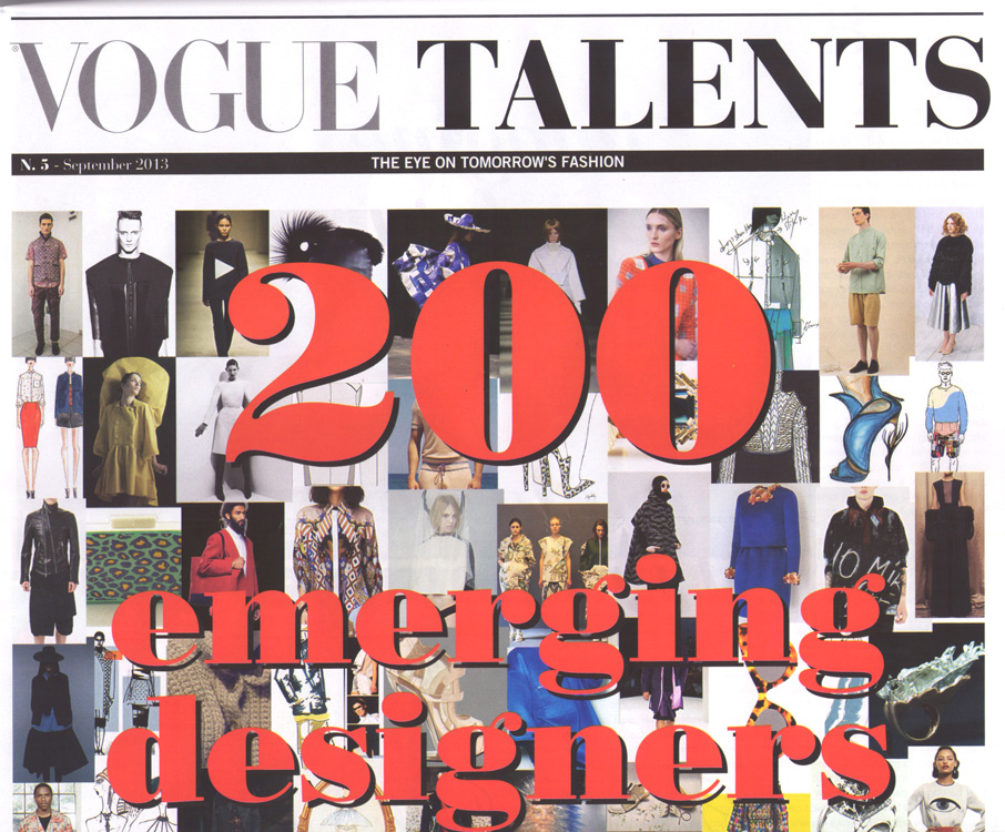 Copy of VOGUE TALENTS, Italy