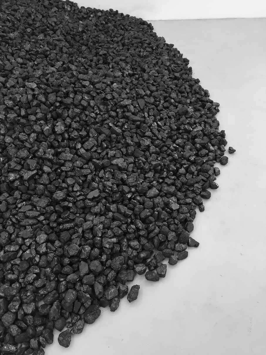 Tas de charbon, 1963 (details)