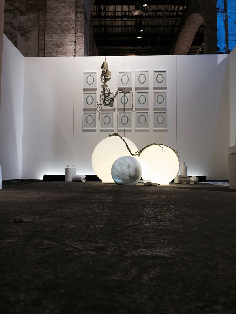 """Insomnia"" display at Pitti Fragranze, Florence"