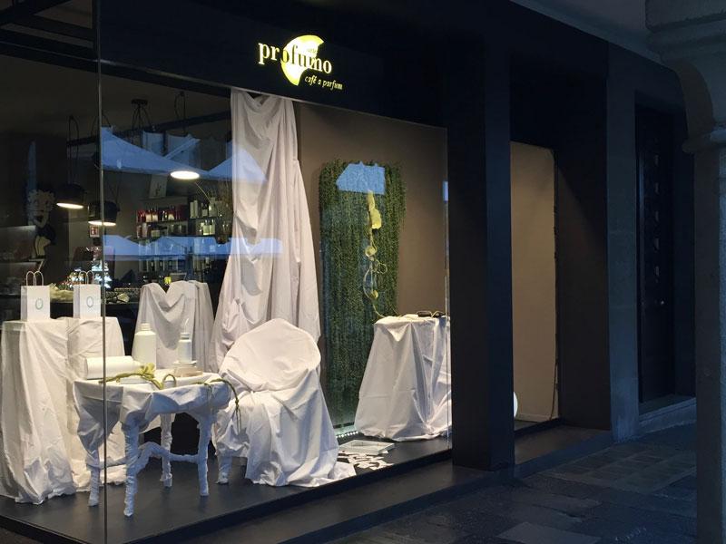 """Insomnia"" installation at Arte Profumo, Udine."
