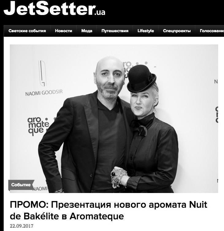 JETSETTER, Ukraine