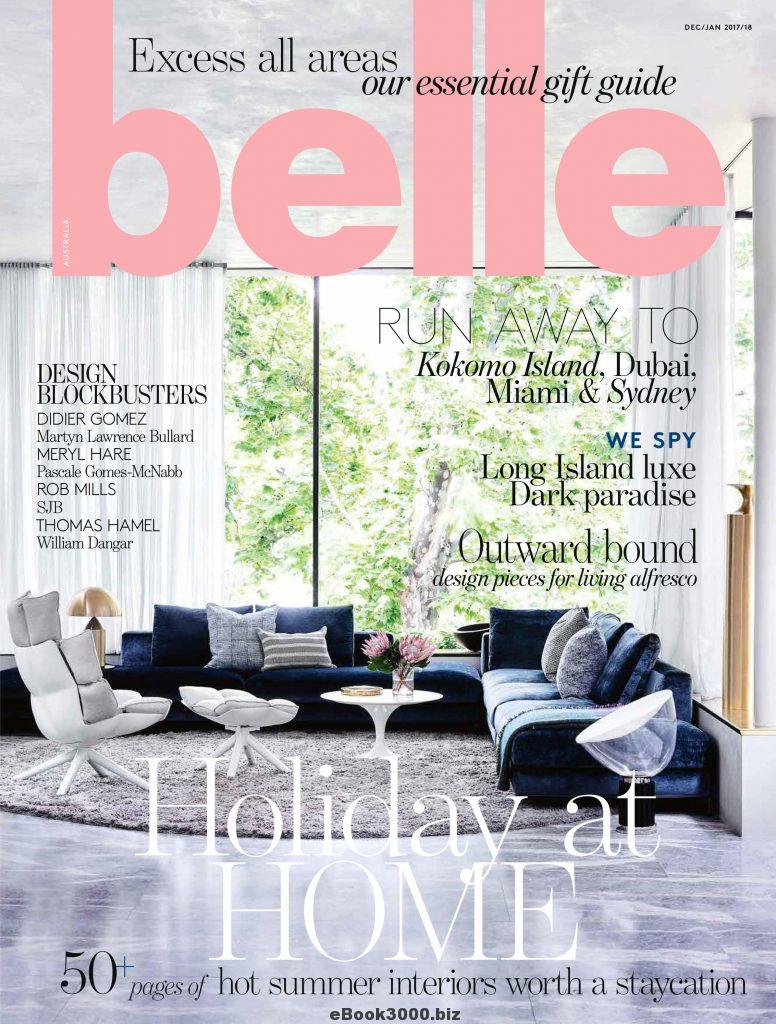 Copy of BELLE MAGAZINE, Australia