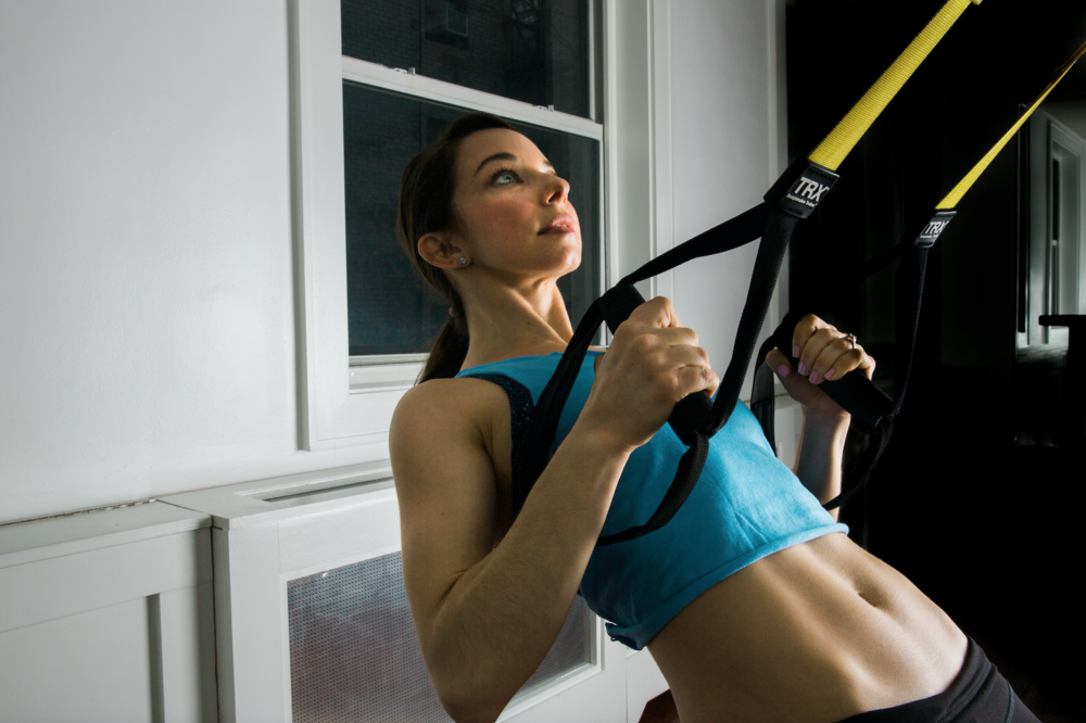 TRX Core Strength Fitness Challenge at The P.E. Club