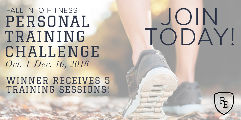 Fall Into Fitness Personal Training Challenge - The P.E. Club