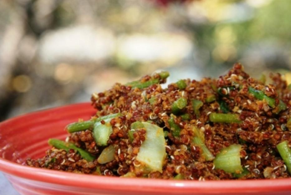 Comforting Pumpkin Quinoa - Fannetastic Food Blog