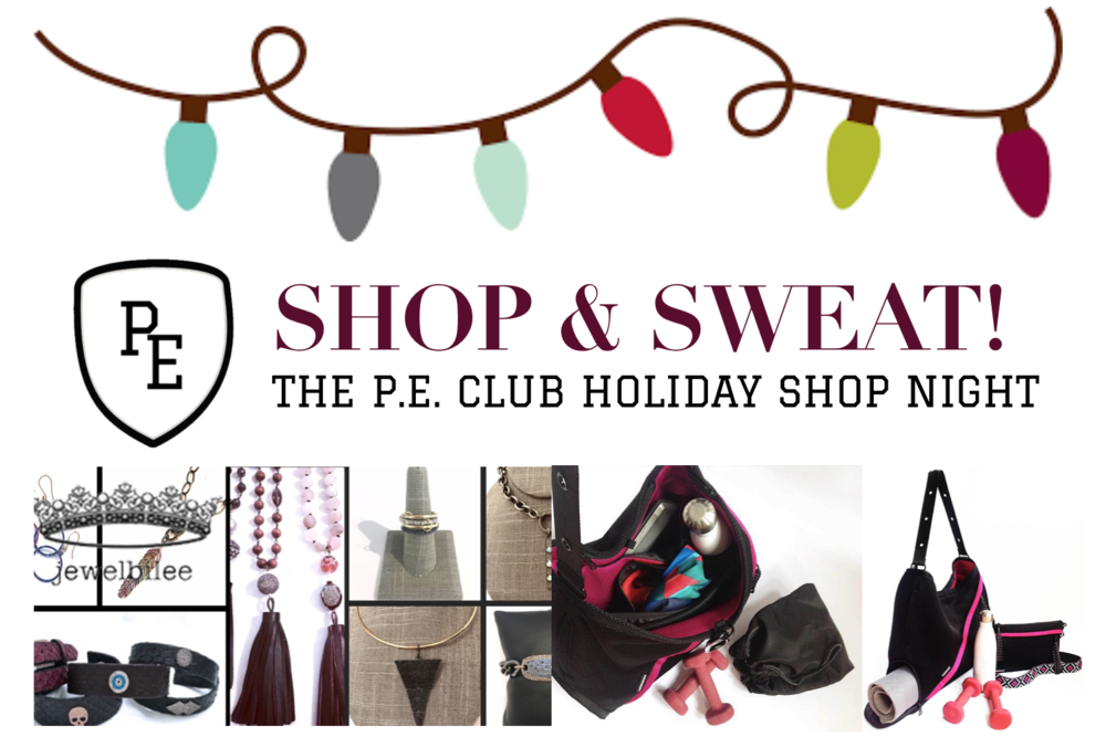 The P.E. Club Holiday Shop Night