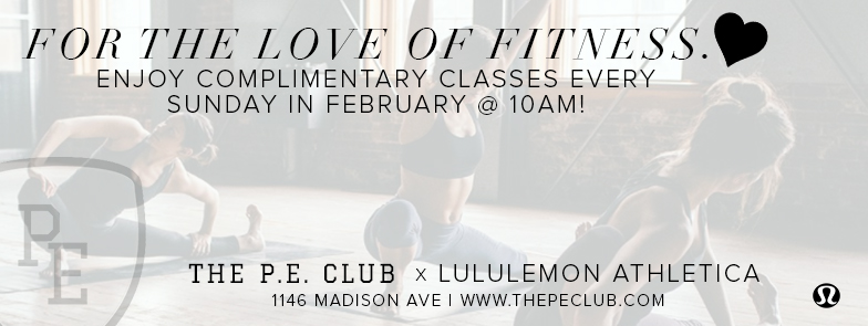 lululemon athletica - madison ave - the p.e. club