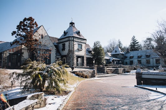 Pleasantdale Chateau in the Winter