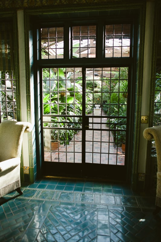 Pleasantdale Chateau's Orangery, perfect for indoor portraits