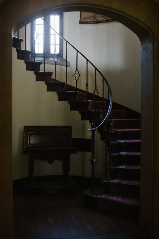 Pleasantdale Chateau Spiral Staircase