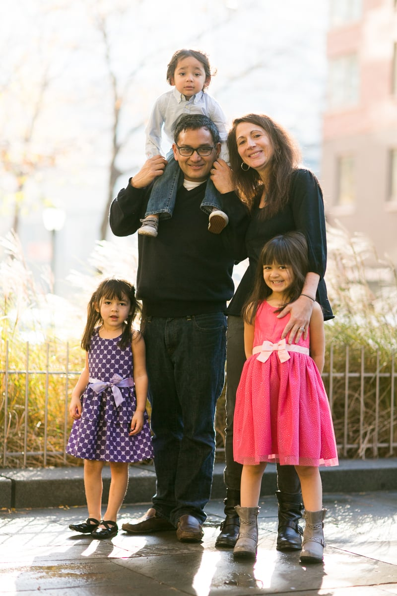 tribeca family photography session
