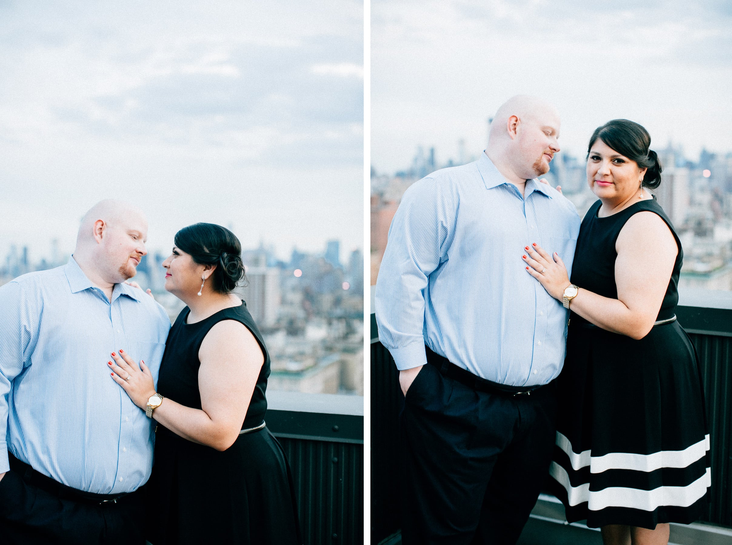 central park engagement session, nyc wedding, rooftop engagement session, new york