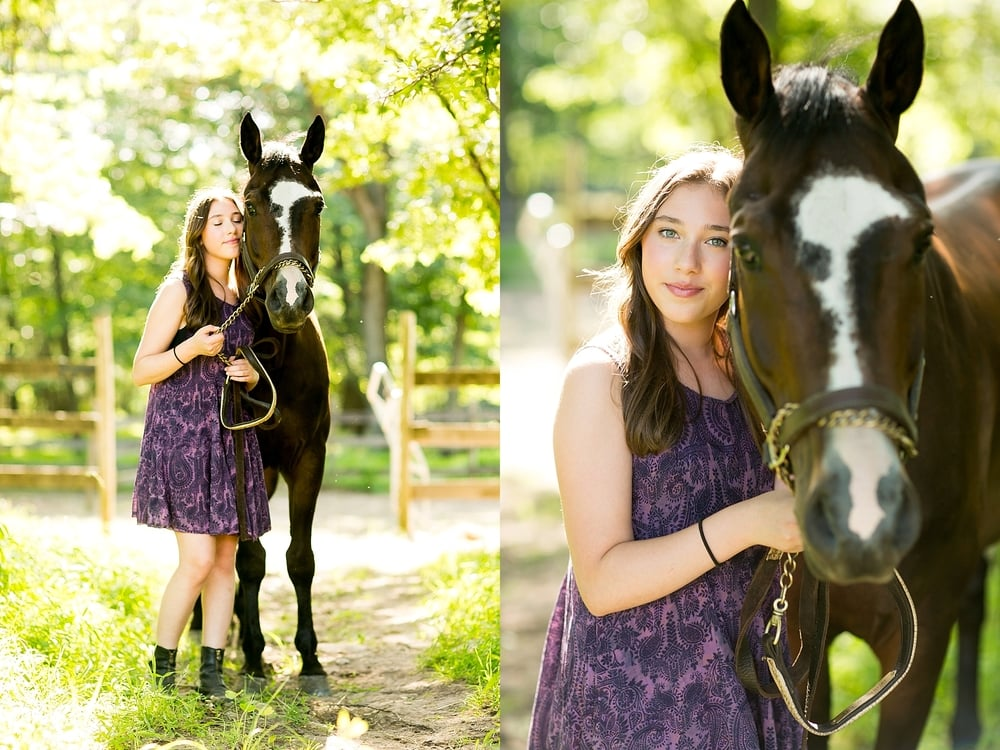 equestrian portraits, bat mitzvah portraits, senior portraits, equestrian, nj photographer
