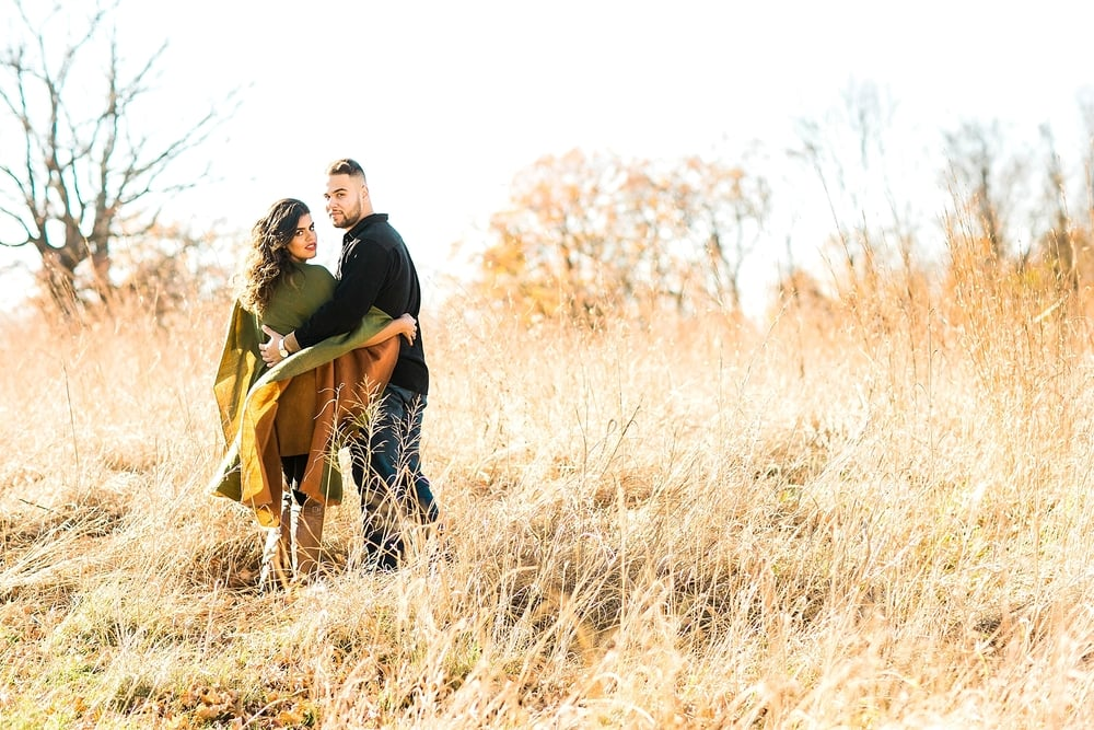 New Jersey Wedding Photographer | Colorful Engagement Session