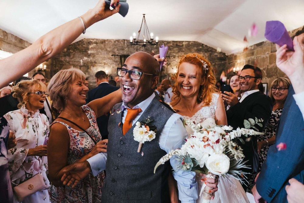 Danby Castle wedding - North Yorkshire