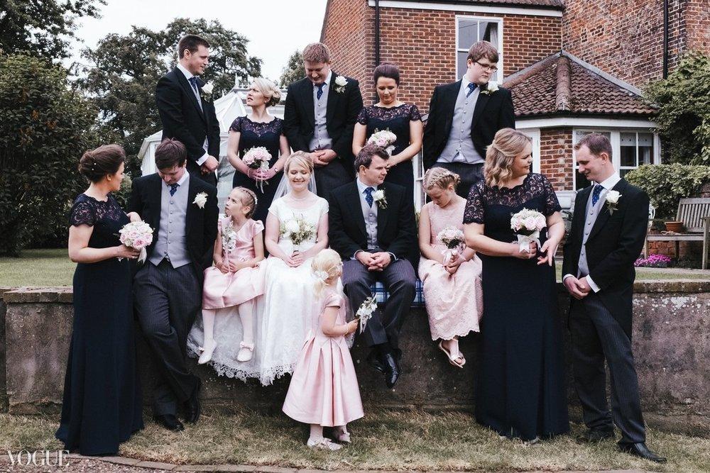 Aaron Jeffels Wedding Photography | Vogue Wedding Publication | Teesside Wedding Photographer