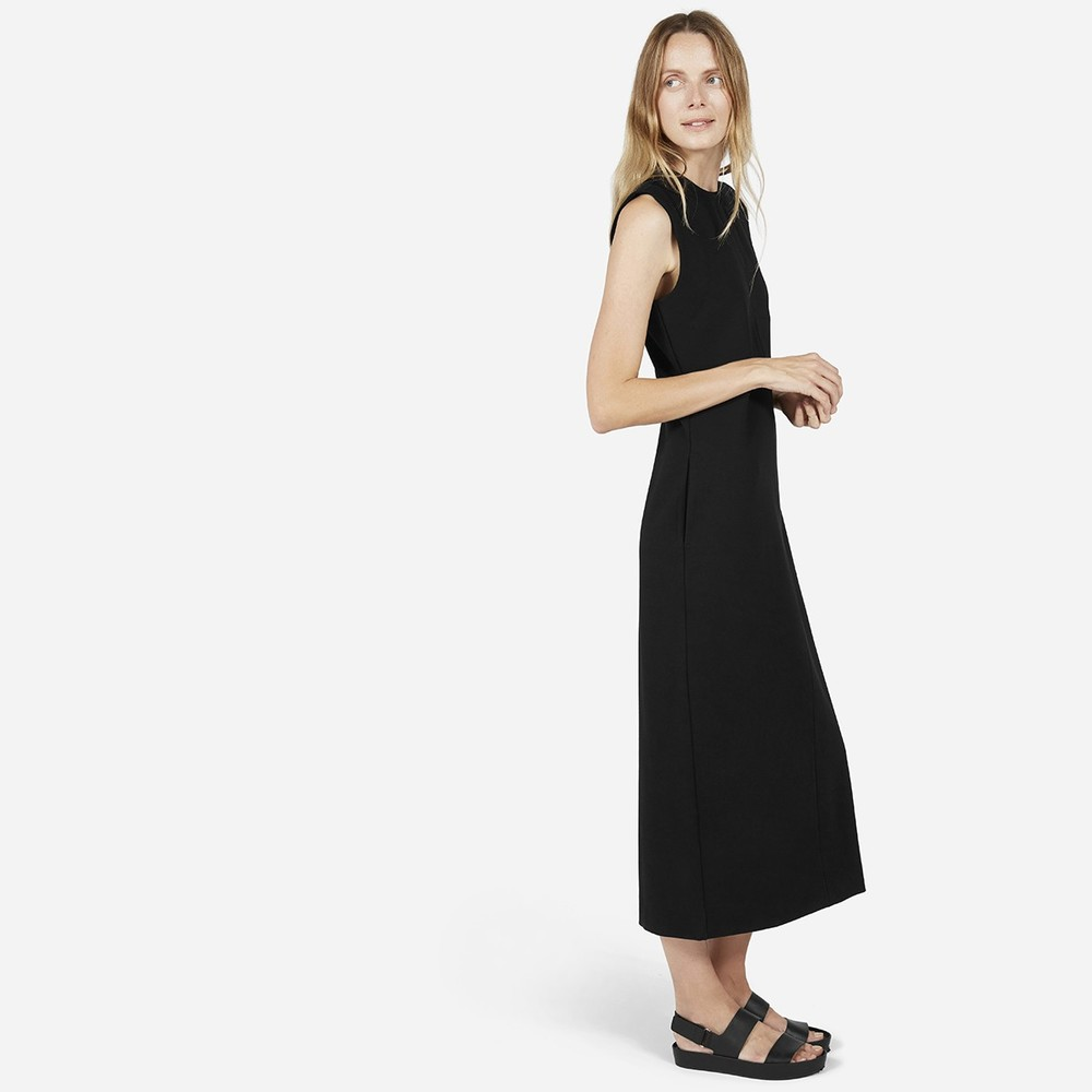 Everlane-The Ponte Full-Length Dress