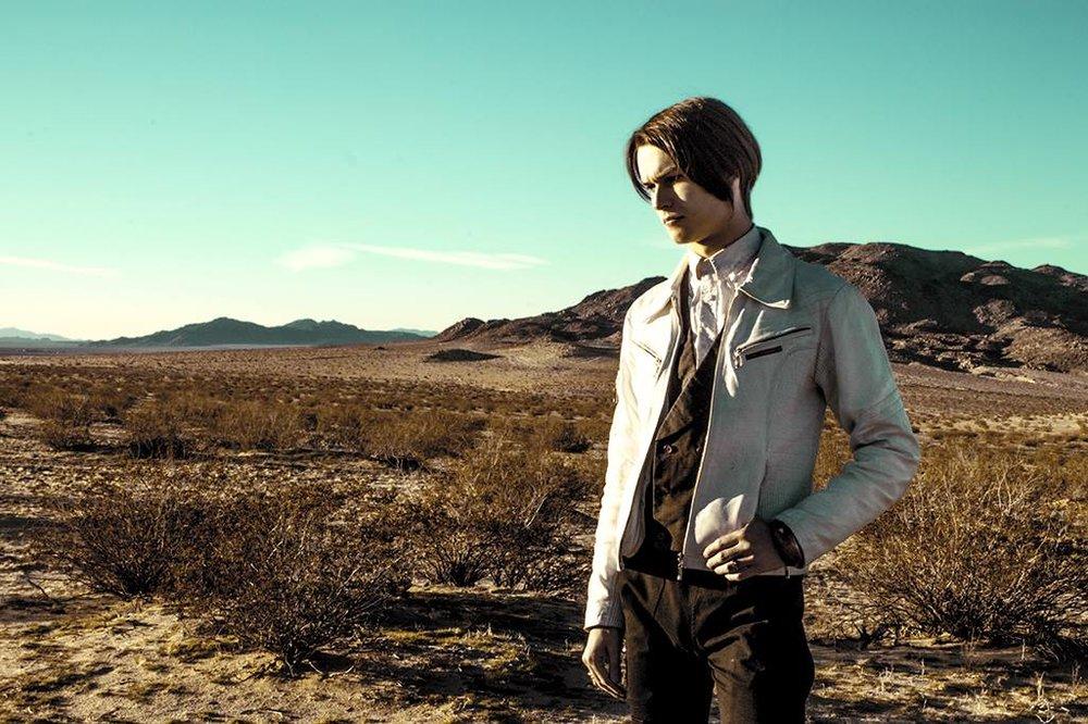 Photo by Mirabelle Jones in the Mojave Desert