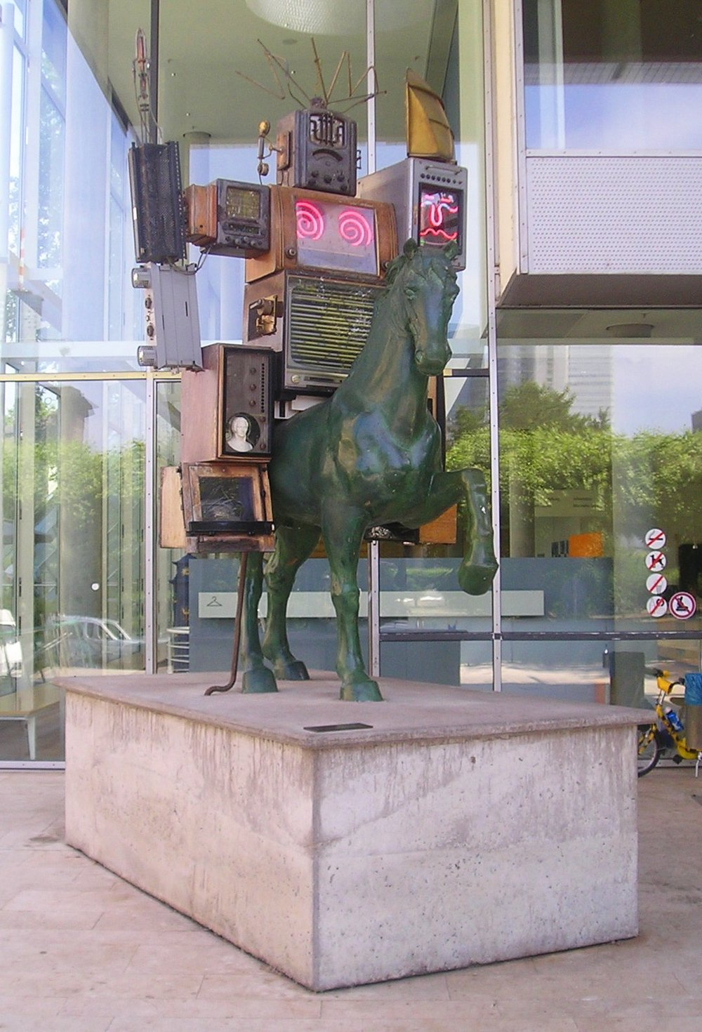 """Pre-Bell Man"" by Nam June Paik"