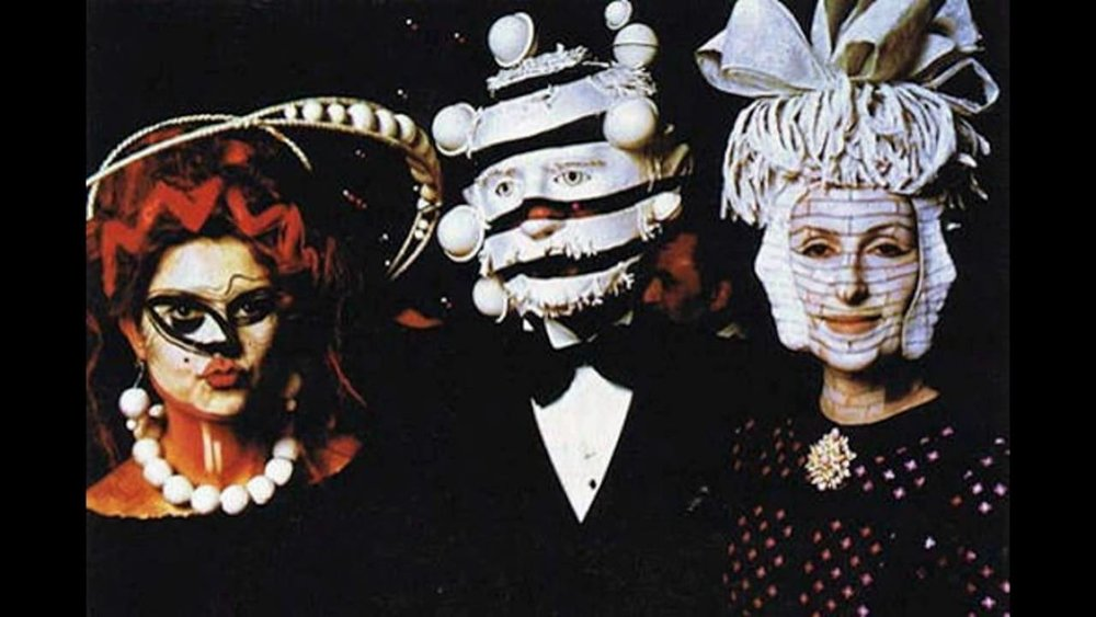 "Photo from ""Surrealist Ball,"" held by Marie-Hélène de Rothschild at Château de Ferrières. December 12th, 1972"