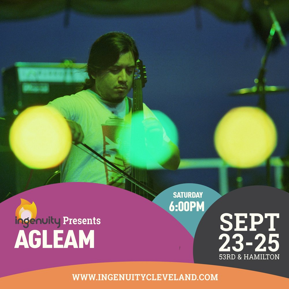 agleam performed at IngenuityFest in Cleveland, 2016