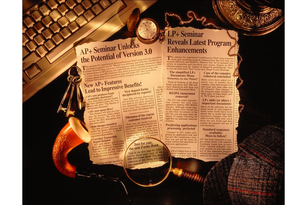Sherlock Seminar Ad